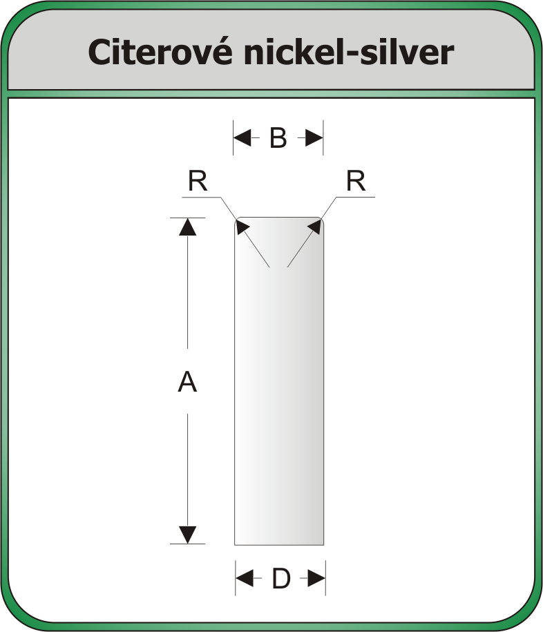 citerove nickel silver